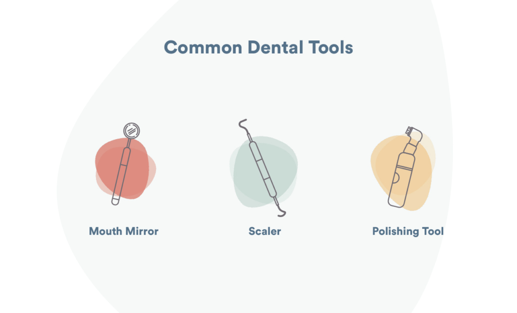 dentists tools how often to go to dentist