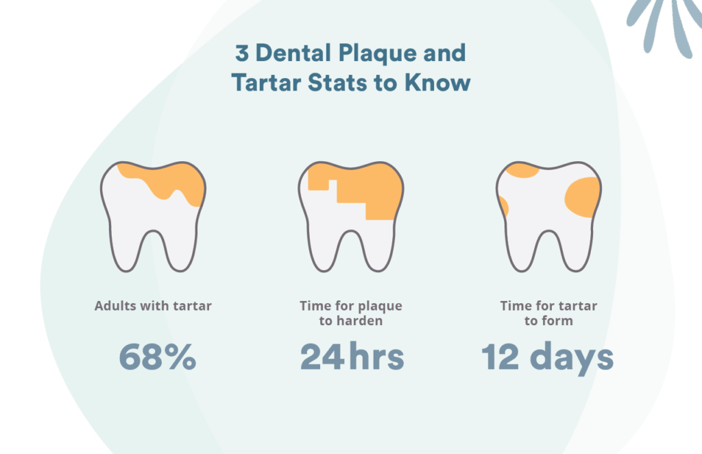 Types of plaque and tartar