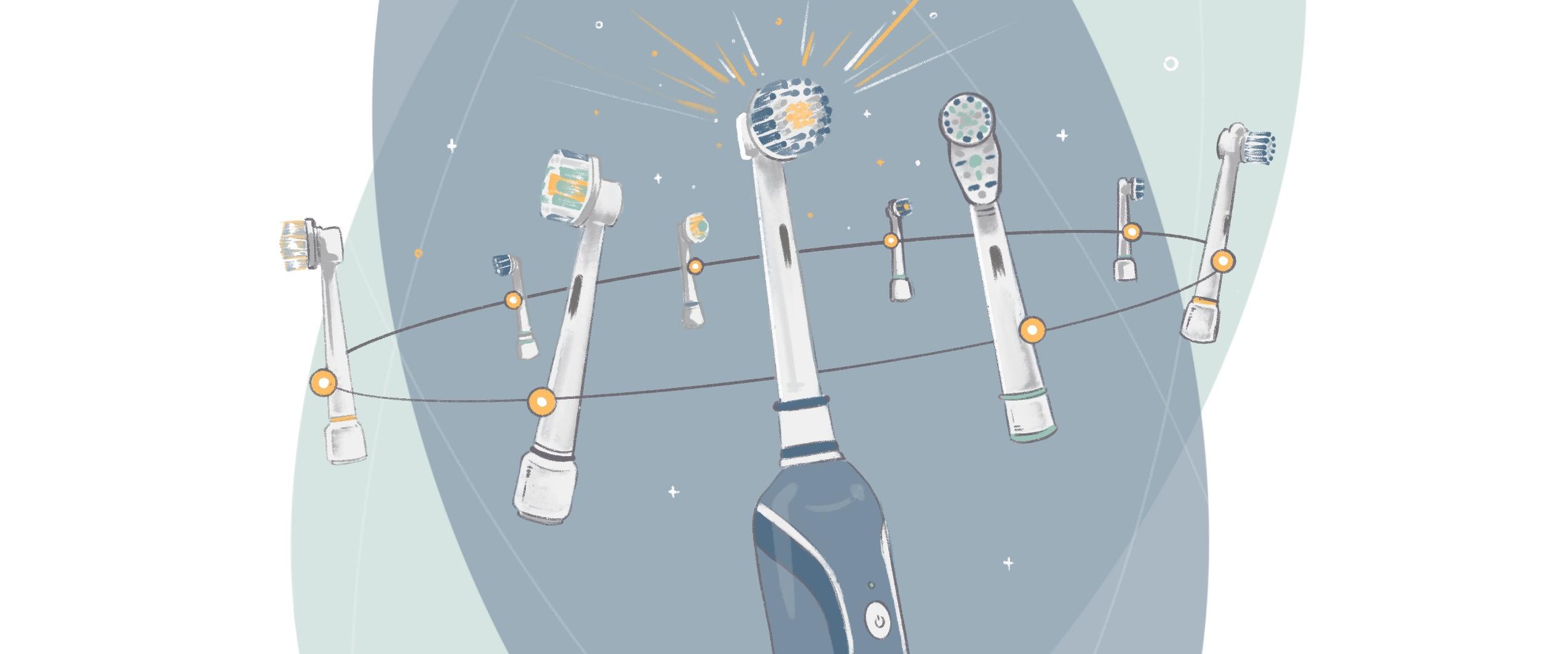 oral-b toothbrush head