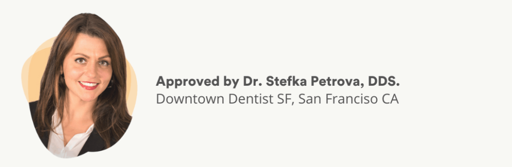 Approved by Dr. Petrova, DDS